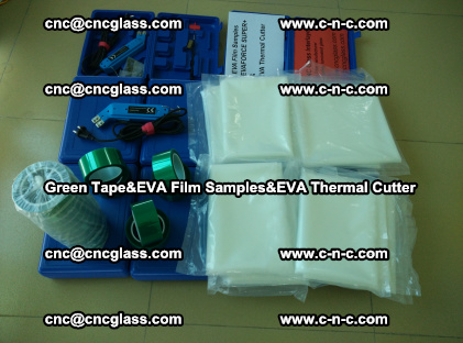PET GREEN TAPE, EVAFORCE FILM SAMPLES, EVA THERMAL CUTTER (51)