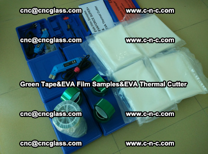 PET GREEN TAPE, EVAFORCE FILM SAMPLES, EVA THERMAL CUTTER (56)