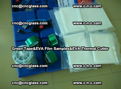 PET GREEN TAPE, EVAFORCE FILM SAMPLES, EVA THERMAL CUTTER (67)
