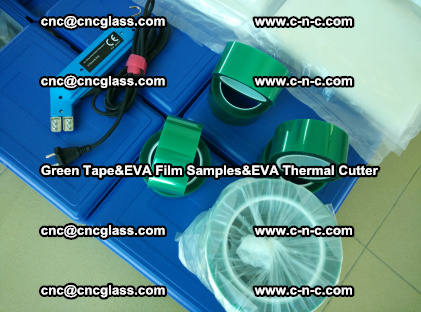 PET GREEN TAPE, EVAFORCE FILM SAMPLES, EVA THERMAL CUTTER (71)