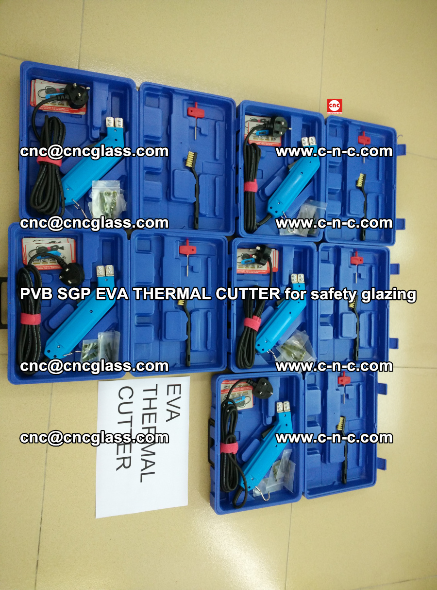 PVB SGP EVA THERMAL CUTTER for laminated glass safety glazing (109)