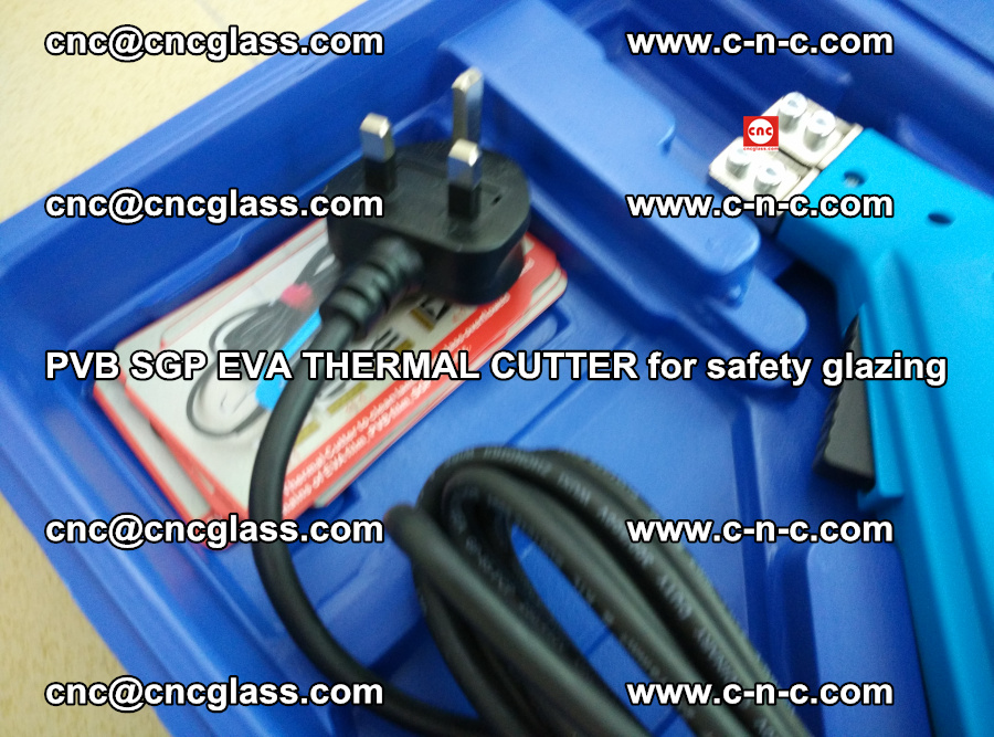 PVB SGP EVA THERMAL CUTTER for laminated glass safety glazing (80)