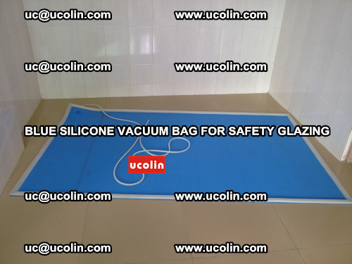 Blue Silicone Vacuum Bag for safety glazing (12)
