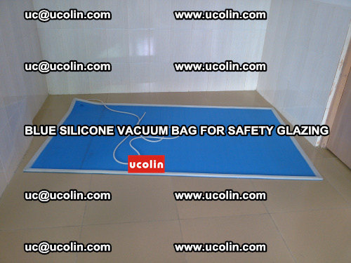 Blue Silicone Vacuum Bag for safety glazing (13)