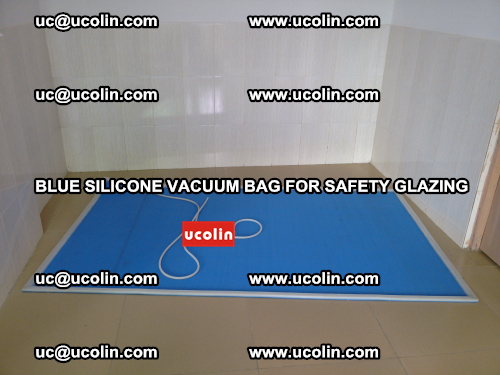 Blue Silicone Vacuum Bag for safety glazing (15)