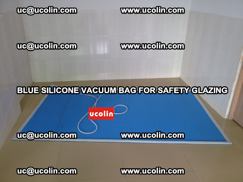 Blue Silicone Vacuum Bag for safety glazing (16)