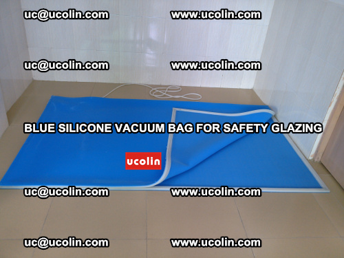 Blue Silicone Vacuum Bag for safety glazing (18)