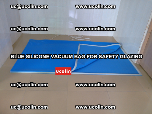 Blue Silicone Vacuum Bag for safety glazing (19)