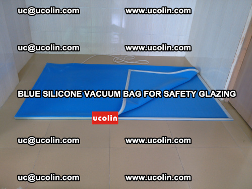 Blue Silicone Vacuum Bag for safety glazing (20)