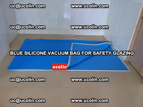 Blue Silicone Vacuum Bag for safety glazing (21)