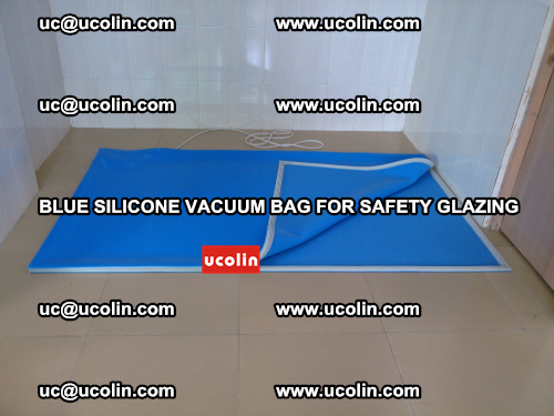 Blue Silicone Vacuum Bag for safety glazing (22)