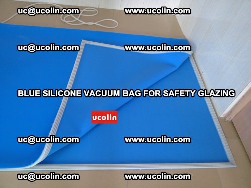 Blue Silicone Vacuum Bag for safety glazing (23)