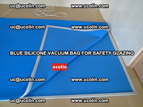 Blue Silicone Vacuum Bag for safety glazing (24)