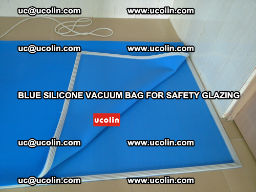 Blue Silicone Vacuum Bag for safety glazing (25)