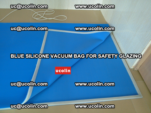Blue Silicone Vacuum Bag for safety glazing (26)