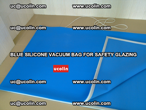 Blue Silicone Vacuum Bag for safety glazing (27)