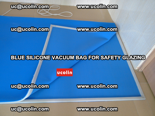 Blue Silicone Vacuum Bag for safety glazing (28)