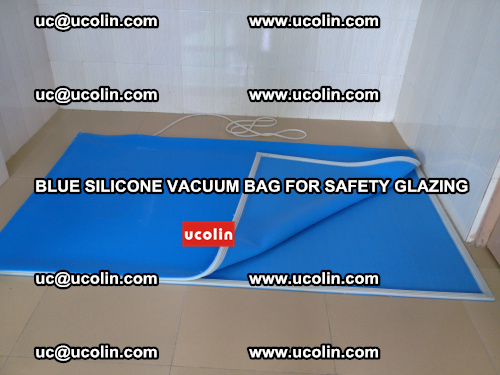 Blue Silicone Vacuum Bag for safety glazing (29)