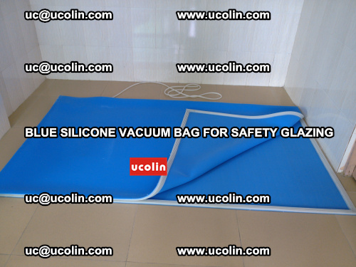 Blue Silicone Vacuum Bag for safety glazing (30)