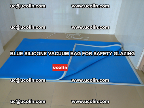 Blue Silicone Vacuum Bag for safety glazing (31)