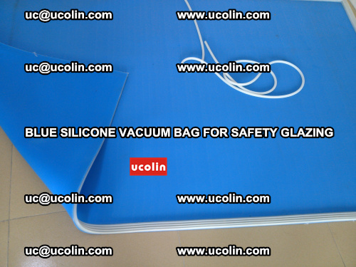 Blue Silicone Vacuum Bag for safety glazing (4)
