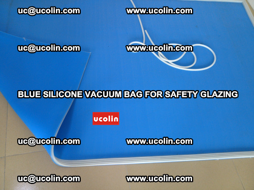 Blue Silicone Vacuum Bag for safety glazing (5)