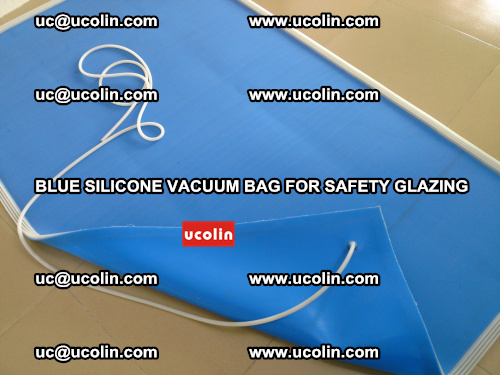 Blue Silicone Vacuum Bag for safety glazing (6)