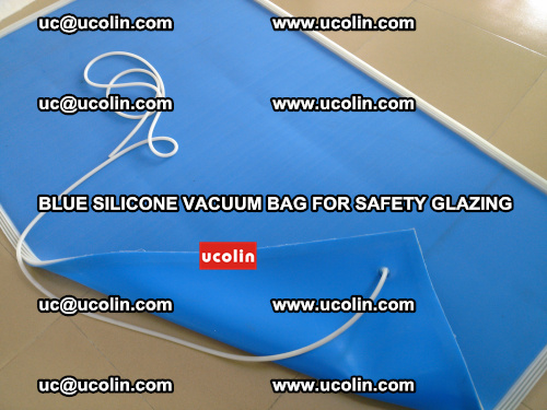 Blue Silicone Vacuum Bag for safety glazing (7)