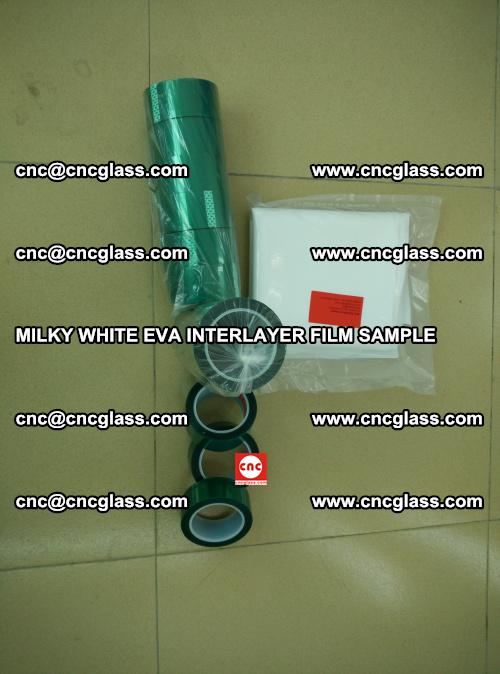 EVA FILM SAMPLE, MILKY WHITE, FOR SAFETY GLAZING, EVAVISION (29)