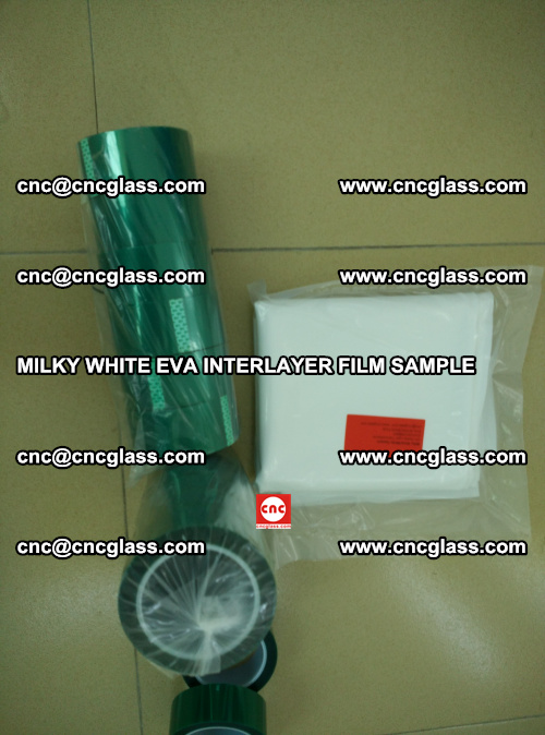 EVA FILM SAMPLE, MILKY WHITE, FOR SAFETY GLAZING, EVAVISION (37)
