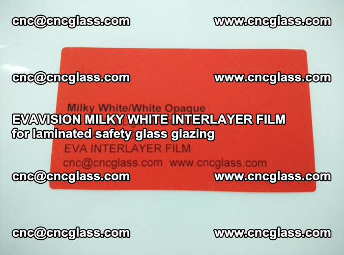 EVAVISION MILKY WHITE INTERLAYER FILM for laminated safety glass glazing (1)