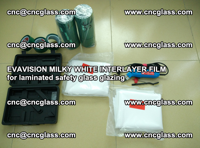 EVAVISION MILKY WHITE INTERLAYER FILM for laminated safety glass glazing (12)