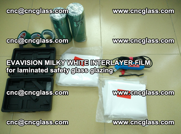 EVAVISION MILKY WHITE INTERLAYER FILM for laminated safety glass glazing (13)