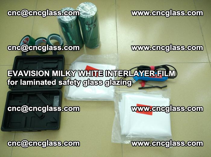 EVAVISION MILKY WHITE INTERLAYER FILM for laminated safety glass glazing (15)