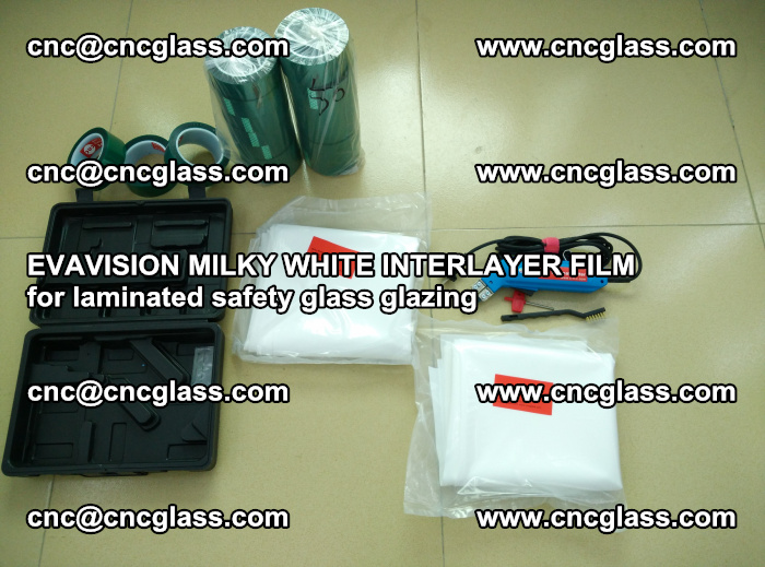 EVAVISION MILKY WHITE INTERLAYER FILM for laminated safety glass glazing (16)