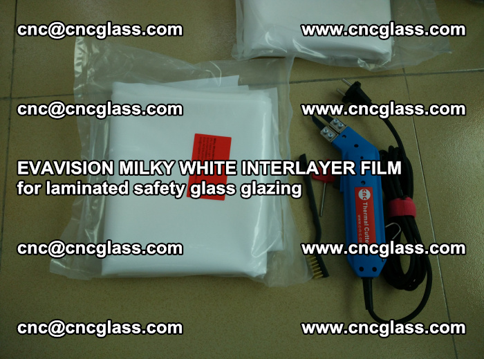 EVAVISION MILKY WHITE INTERLAYER FILM for laminated safety glass glazing (17)