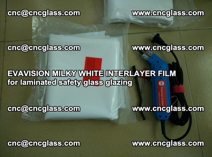 EVAVISION MILKY WHITE INTERLAYER FILM for laminated safety glass glazing (18)