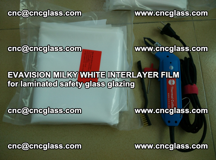 EVAVISION MILKY WHITE INTERLAYER FILM for laminated safety glass glazing (19)