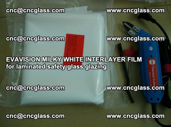 EVAVISION MILKY WHITE INTERLAYER FILM for laminated safety glass glazing (20)