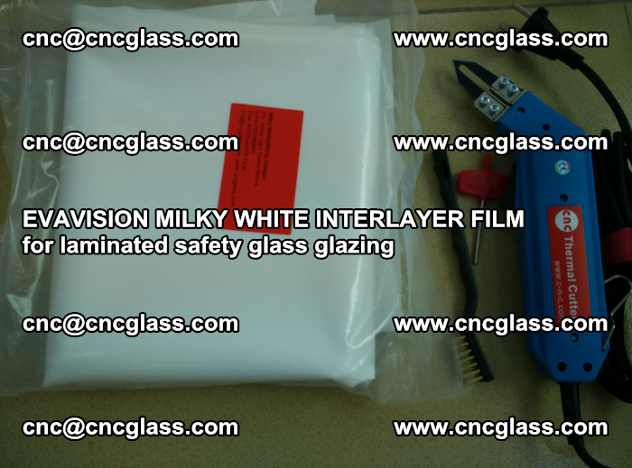 EVAVISION MILKY WHITE INTERLAYER FILM for laminated safety glass glazing (21)