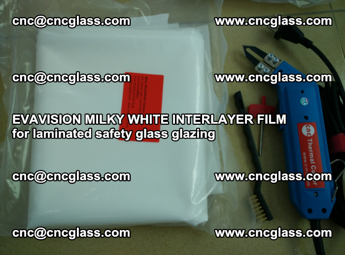 EVAVISION MILKY WHITE INTERLAYER FILM for laminated safety glass glazing (22)
