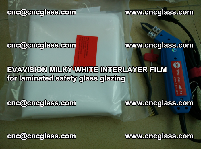 EVAVISION MILKY WHITE INTERLAYER FILM for laminated safety glass glazing (23)