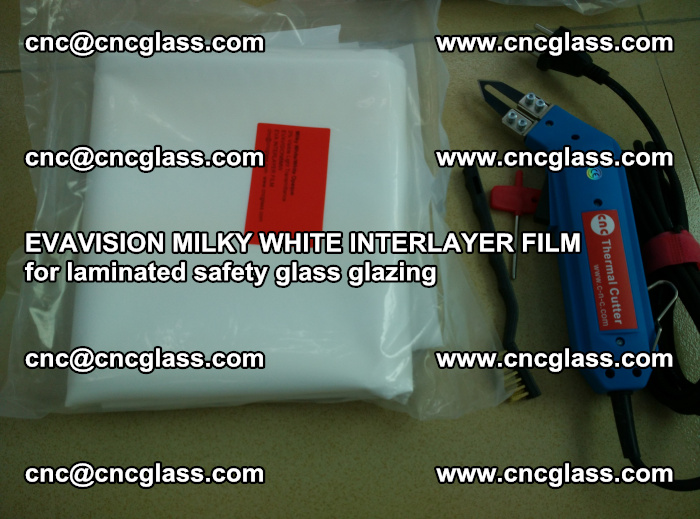 EVAVISION MILKY WHITE INTERLAYER FILM for laminated safety glass glazing (24)