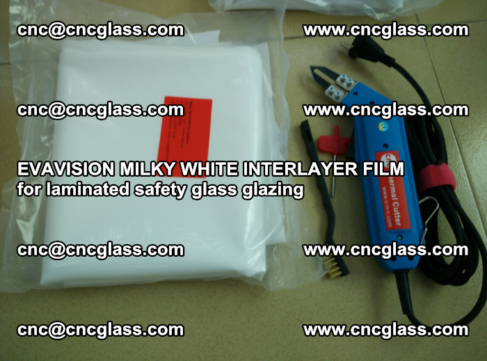 EVAVISION MILKY WHITE INTERLAYER FILM for laminated safety glass glazing (26)