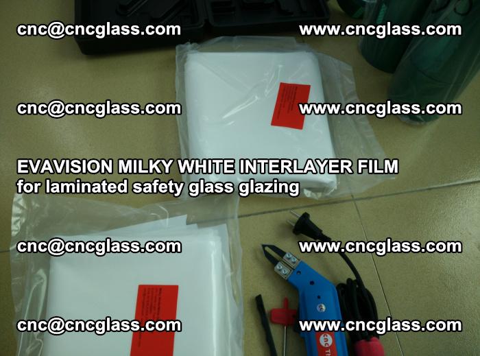 EVAVISION MILKY WHITE INTERLAYER FILM for laminated safety glass glazing (28)