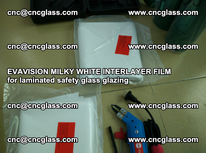 EVAVISION MILKY WHITE INTERLAYER FILM for laminated safety glass glazing (29)