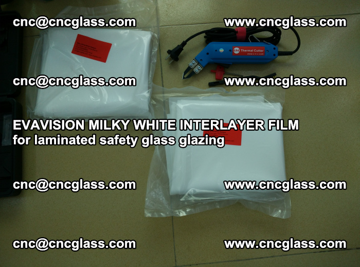 EVAVISION MILKY WHITE INTERLAYER FILM for laminated safety glass glazing (3)
