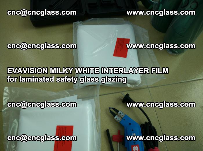 EVAVISION MILKY WHITE INTERLAYER FILM for laminated safety glass glazing (30)