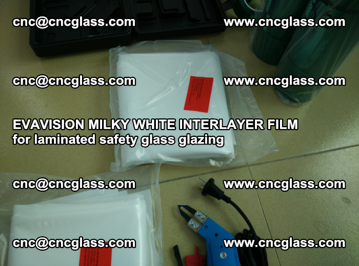 EVAVISION MILKY WHITE INTERLAYER FILM for laminated safety glass glazing (31)