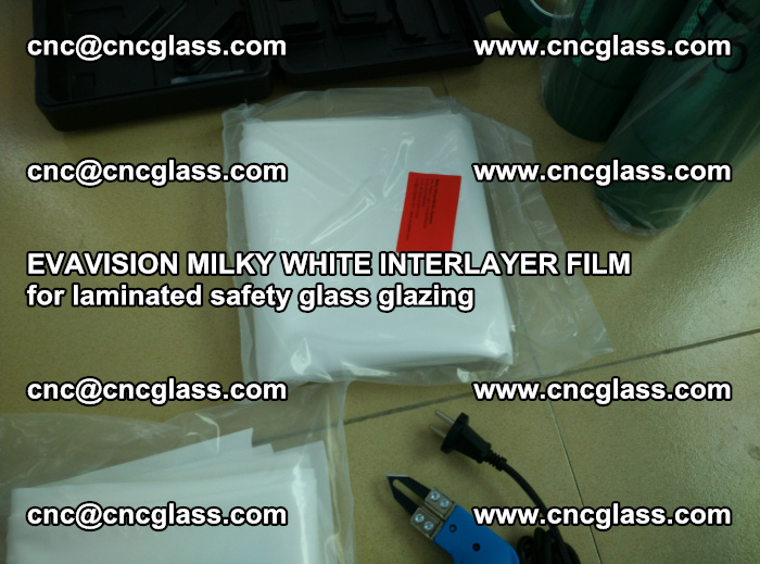 EVAVISION MILKY WHITE INTERLAYER FILM for laminated safety glass glazing (32)